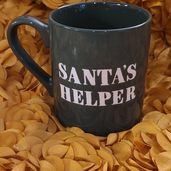 """SANTA'S HELPER"" mug"